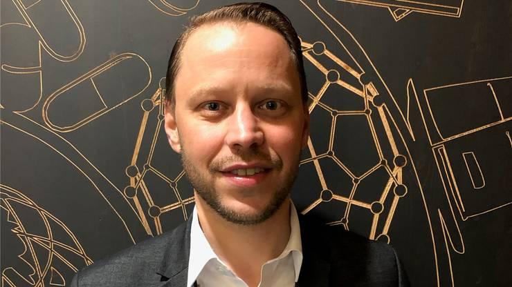 Pascal Stüssi hilft im Marketing beim Niklausschwinget mit.