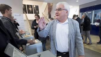 Moutiers projurassischer Stadtpräsident Marcel Winistoerfer wurde im Amt bestätigt.