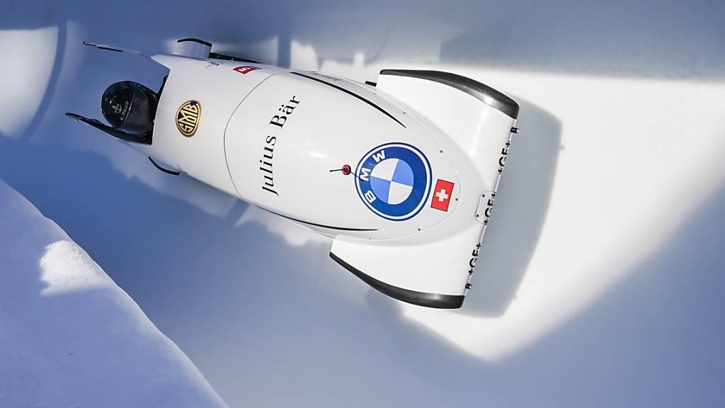 Melanie Hasler, hier an einem Rennen im Januar in St. Moritz, kommt mit dem Monobob zu ihrer WM-Premiere
