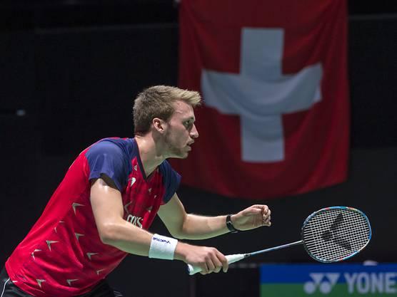 Out in der 1. Runde: Christian Kirchmayr, der derzeit beste Schweizer Einzelspieler, verpasste bei der Heim-WM eine Überraschung.