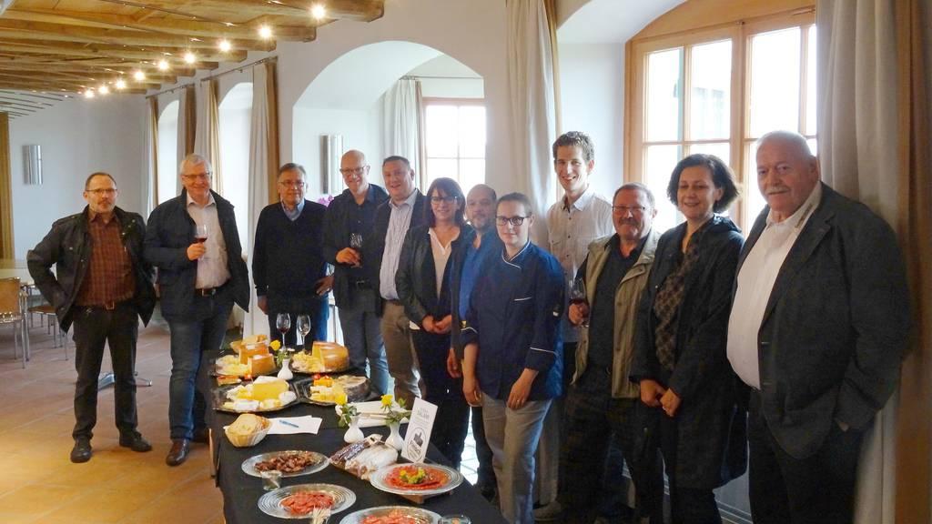 Degustieren für die Olma: Die Gastronomen bei einem der sieben Stopps.