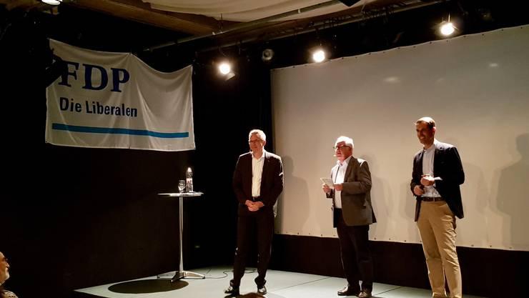 Robert Itschner, Hans Fahrländer, Thierry Burkart