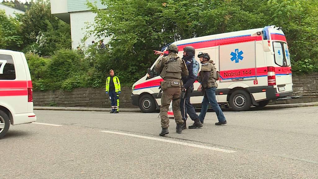 Polizei-Grosseinsatz in Spreitenbach wegen Selbstmordgefährdetem
