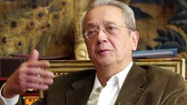 Jacques Vergès in einer Aufnahme aus dem Jahr 2004