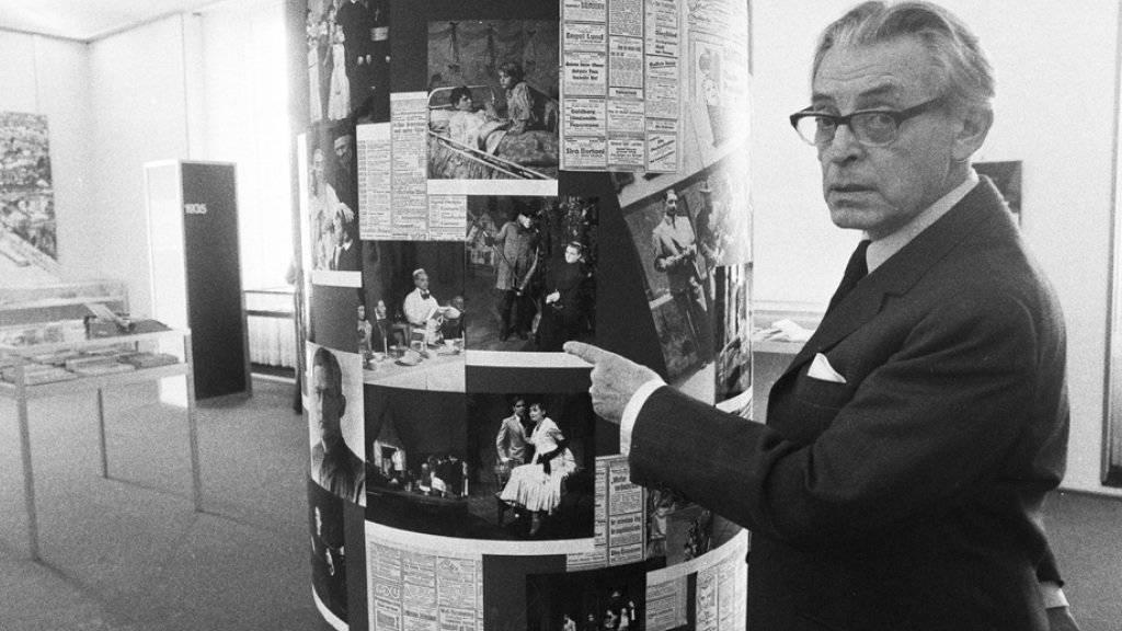 Der Regisseur Leopold Lindtberg hat mit «Die letzte Chance» eine Perle der Schweizer Filmgeschichte geschaffen (Archiv)