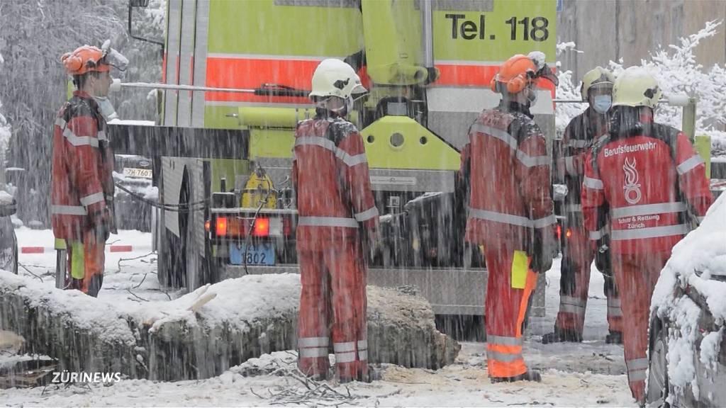 So viel Schnee in Zürich wie seit 2006 nicht mehr