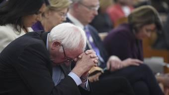 Erst 40 Prozent der Demokraten wissen, wen sie bei den Vorwahlen wählen wollen. Für Bernie Sanders und seine Kontrahenten wäre es also wichtig, so viel Zeit wie möglich mit den Wählenden zu verbringen. Doch der Impeachment-Prozess gegen Trump bindet sie in Washington fest. (Bild: Keystone)