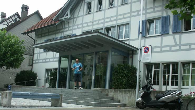 Möglicher Standort: Im Weininger Gemeindehaus befindet sich bereits ein Polizeiposten, dessen Infrastruktur für den Polizeiverbund genutzt werden könnte.