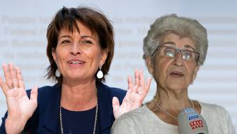 Familie und Freunde kamen zu kurz. TeleM1 besuchte die Mutter der CVP-Politikerin und überraschte sie mit Neuigkeiten.