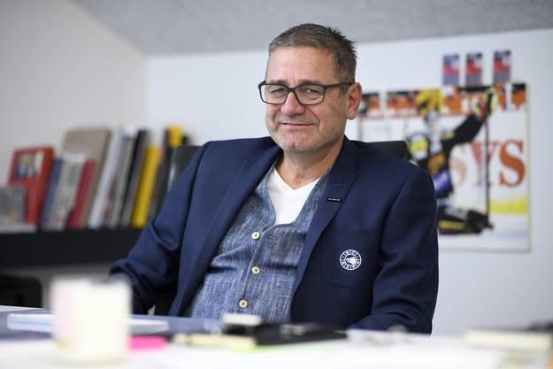 SCB-Manager Marc Lüthi hat eine Versicherung abgeschlossen.