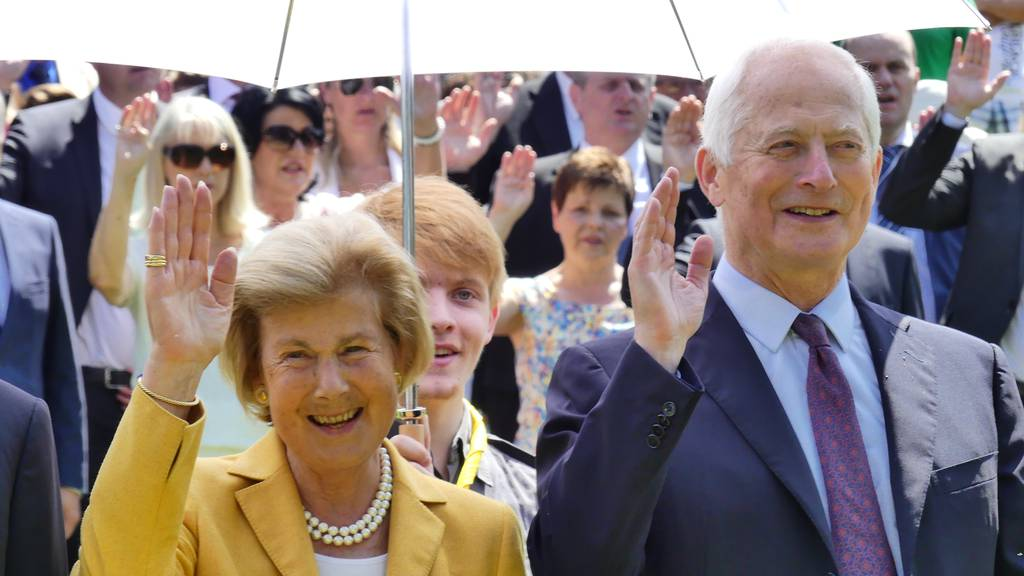 Marie und Ehemann Hans-Adam II.: In den letzten Jahren nahm das Fürstenpaar kaum noch öffentliche Auftritte wahr.