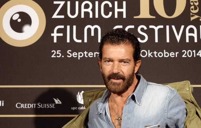 Antonio Banderas präsentiert in Zürich seinen neuen Film «Autómata»