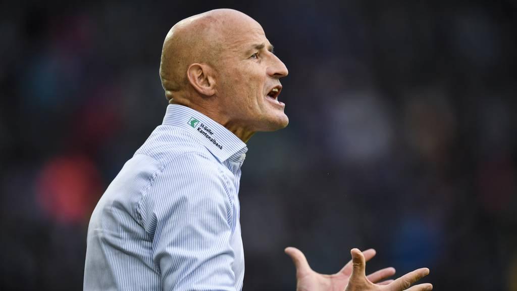 FCSG-Trainer Zeidler: «Hätten beste Mannschaft der Schweiz packen können»