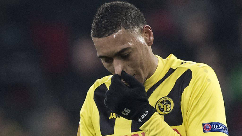 Guillaume Hoarau wird erst 2016 wieder in der Super League spielen
