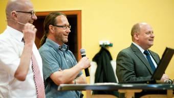 Informationsveranstaltung über die Zusammenarbeit der Gemeinden Killwangen und Spreitenbach