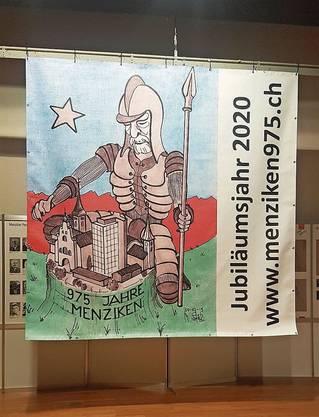 Das Logo für das Dorffest 975 Jahre Menziken.