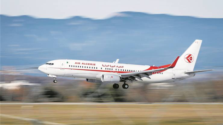 Algerien nimmt seine Bürger nur in Linienflügen mit der Air Algérie zurück.