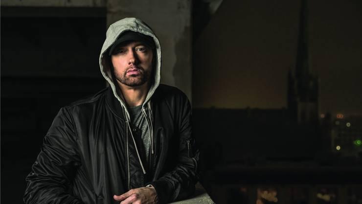 Eminem schäumt vor Wut. Der US-Rapper war schon immer dann am besten, wenn er mit dem Rücken zur Wand rappte.