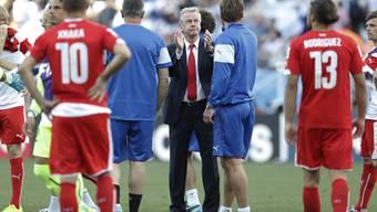 Ottmar Hitzfeld fühlt nach dem WM-Out Stolz und Schmerz