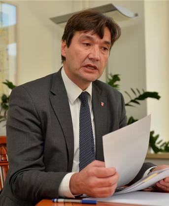 Stadtpräsident François Scheidegger: «Es gibt in Grenchen Leute, die man weniger erreichen kann.»