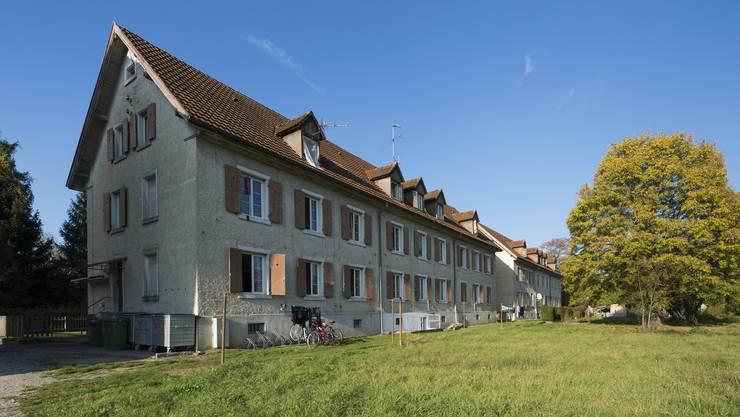 Die Asylunterkunft in Rekingen. (Archiv)