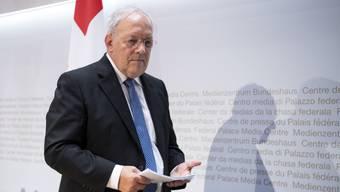 Er tritt ab: Bundesrat Johann Schneider-Ammann hat seinen Rücktritt auf Ende Jahr angekündigt.