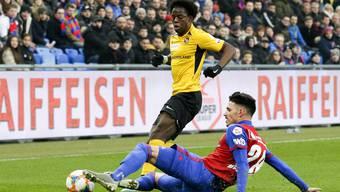 Im letzten Heimspiel gegen YB behielt der FCB um Raoul Petretta deutlich die Oberhand.