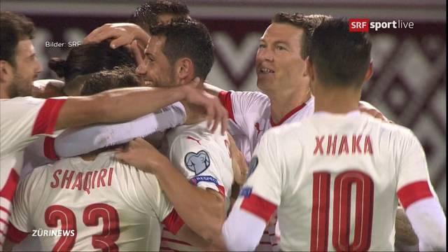Ungeschlagen: Schweizer dominieren 8. Quali-Spiel