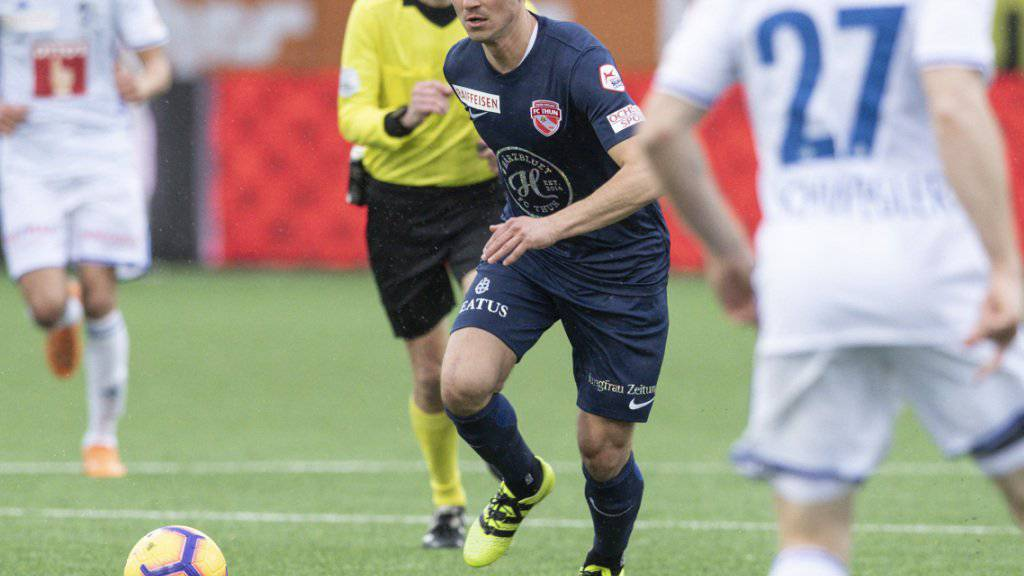 Moreno Costanzo bekommt in Thun keinen neuen Vertrag