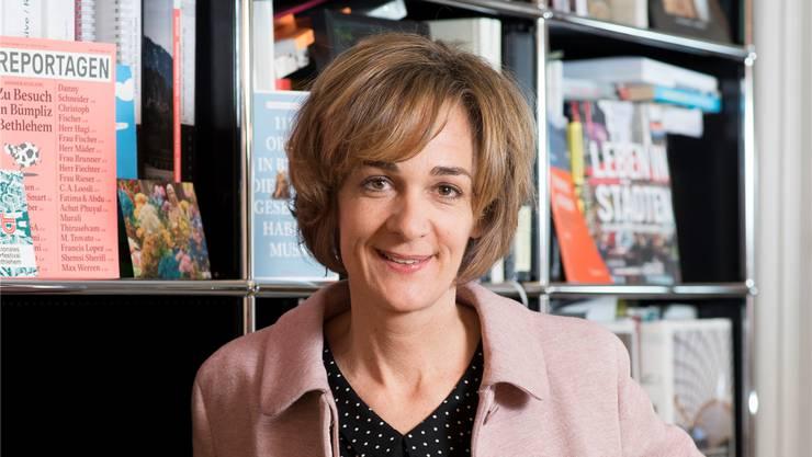 Eine Politikerin, die nicht nur in Bern polarisierte: Ursula Wyss in ihrem Büro.Alex Spichale