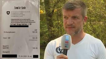 Markus Grosskreuz muss für jeden Besuch seines Sohnes 100 Franken Busse zahlen.