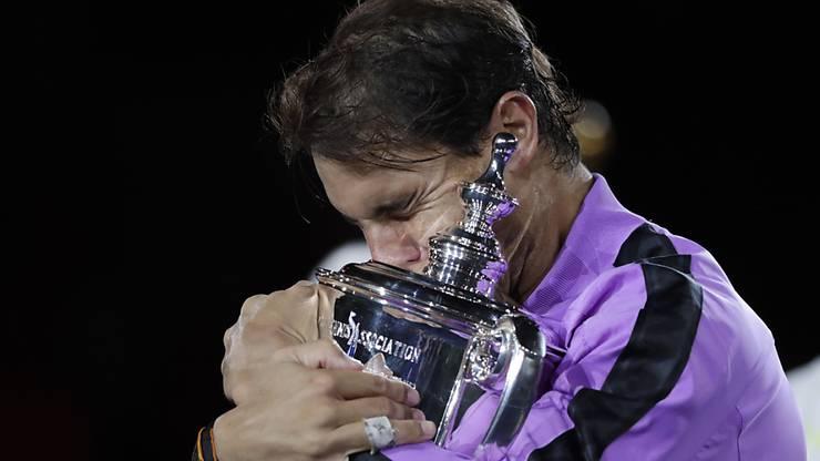 Die 19. Grand-Slam-Trophäe musste sich Rafael Nadal unerwartet hart erkämpfen.