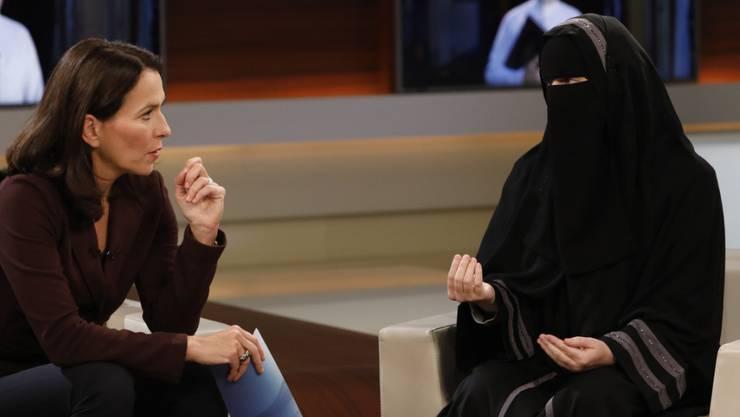 """Der Auftritt von Nora Illi in der ARD-Talkshow """"Anne Will"""" wurde in Deutschland und der Schweiz heftig kritisiert. (Archivbild)"""
