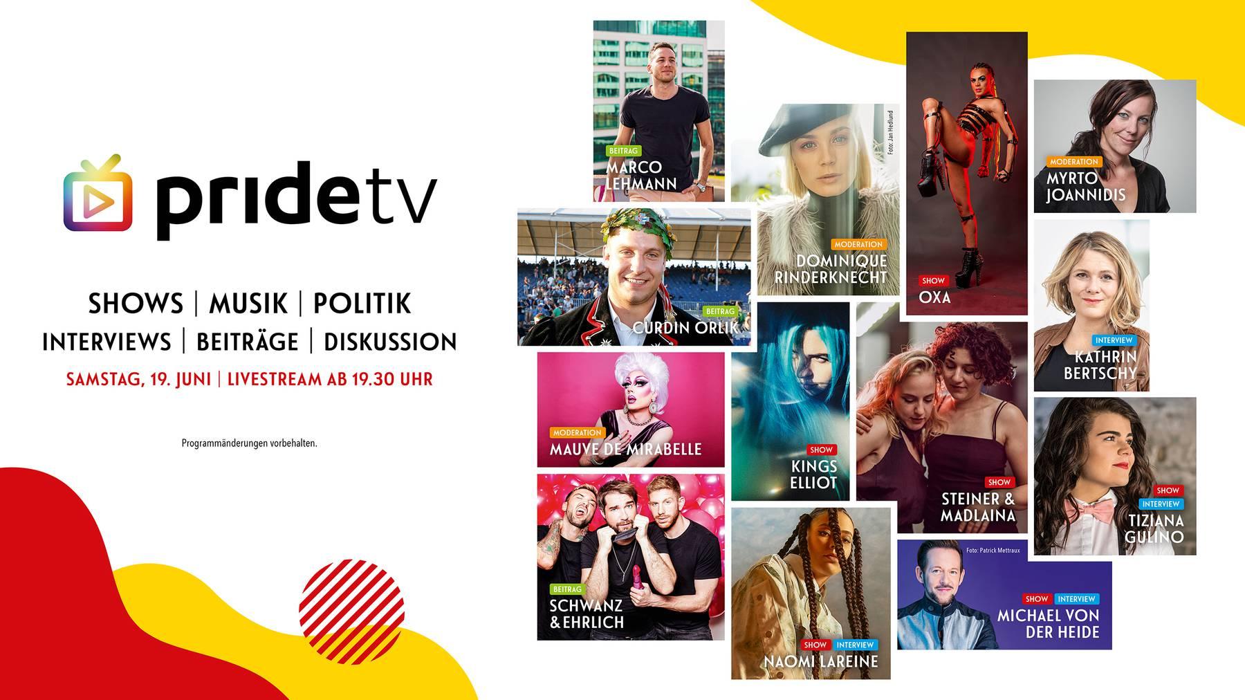 Programm «pride tv»