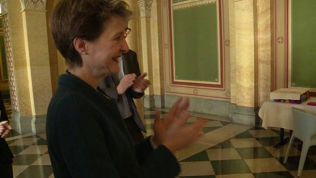 Jugendliche waren zu Besuch im Bundeshaus