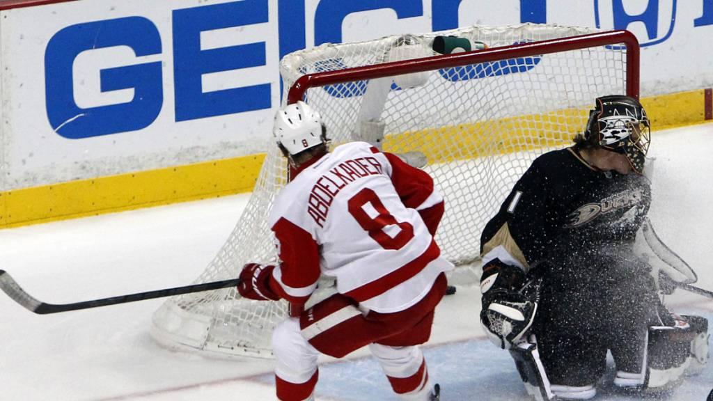 Justin Abdelkader war 2005 gedraftet worden und bestritt über 800 Spiele in der NHL (Archivbild)