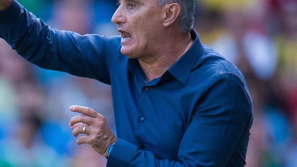 Trainer Tite brachte Brasilien wieder auf Kurs