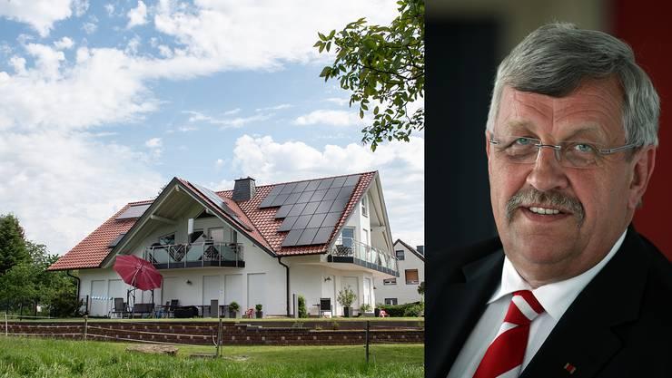 Das Haus des ermordeten Politikers Walter Lübcke. Per Kopfschuss wurde er am vergangenen Wochenende in seinem Garten niedergestreckt.