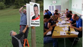 Wie aktiv sind Walter Wobmann und Stefan Müller-Altermatt im Wahlkampf?