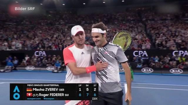 Australien Open: Schweizer Halbfinal