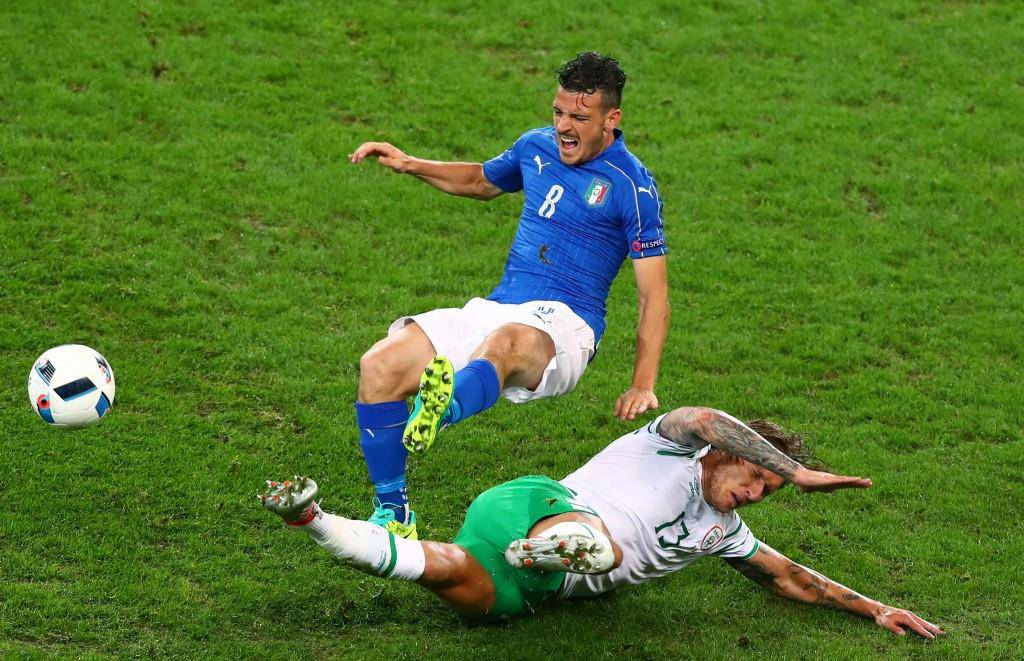 Italien gegen Irland in Bildern (© Keystone/Getty Images)
