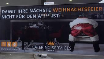 So begrüsste der furzende Weihnachtsmann die Kunden des «Ladedorfs».