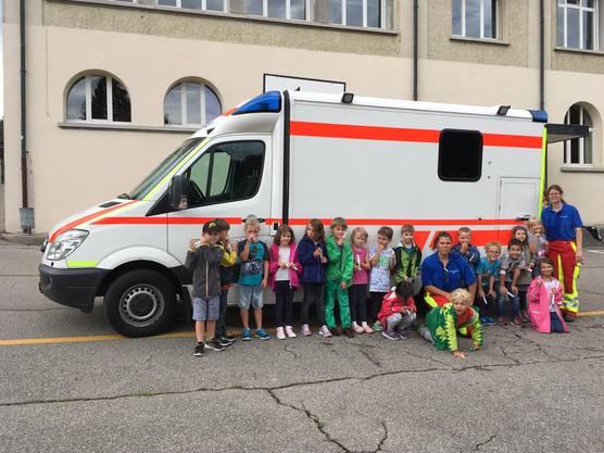 Nothilfekurs mit SRS Rettungsdienst