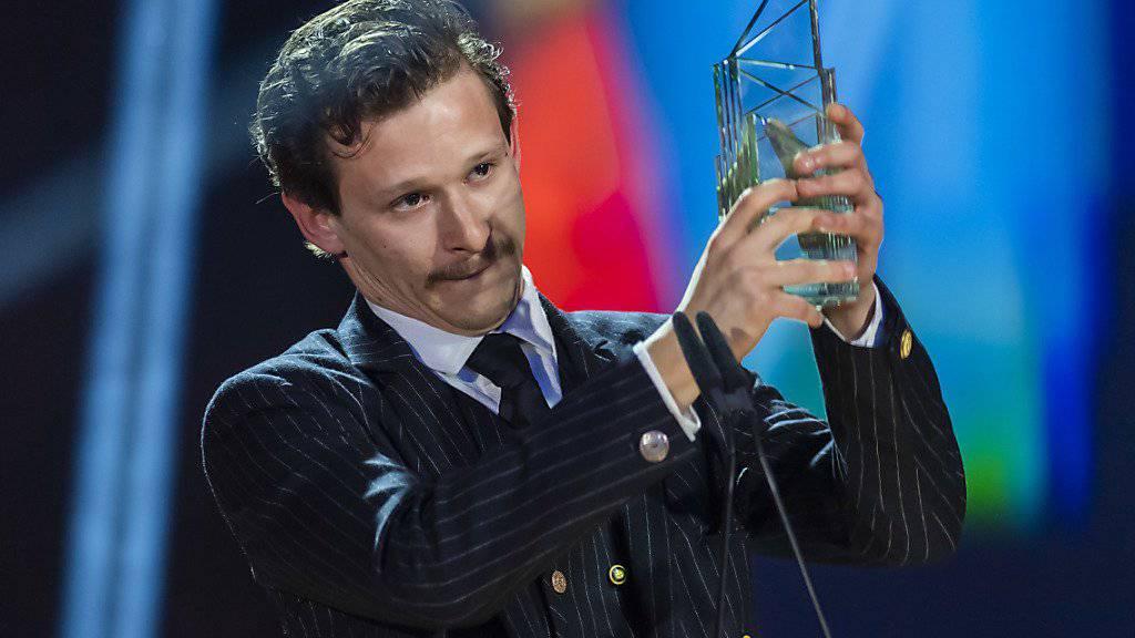 Schauspieler Joel Basman soll das Zugpferd für die Oscar-Kampagne von «Wolkenbruch» sein. Für die Hauptrolle erhielt er vergangenen März den Schweizer Filmpreis.  (Archivbild)