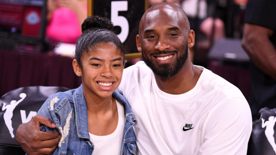 Kobe Bryant mit Tochter Gigi