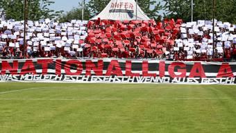 Obwohl die 12er-Liga nicht kommt, bleibt die Super League (für die Fans immer noch Nationalliga A) das langfristige Ziel des FC Aarau