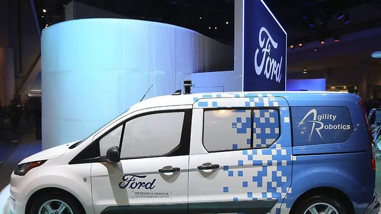 Ford macht mit Robotaxis vorwärts. (Archiv)