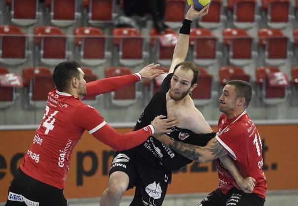 Der Co-Captain des HSC Suhr Aarau ist für die heutige Partie gegen Pfadi Winterthur fraglich.