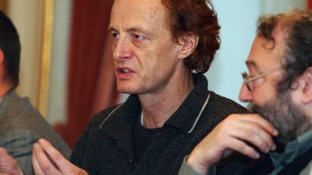 Komponist Beat Furrer (links) im Jahr 2003
