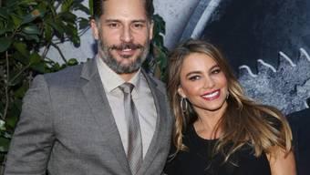 """Joe Manganiello - hier mit seiner Verlobten Sofia Vergara - gehört zu den """"sexiest men alive"""". Kaum zu glauben, dass er früher einmal ein versoffener Penner war (Archiv)"""